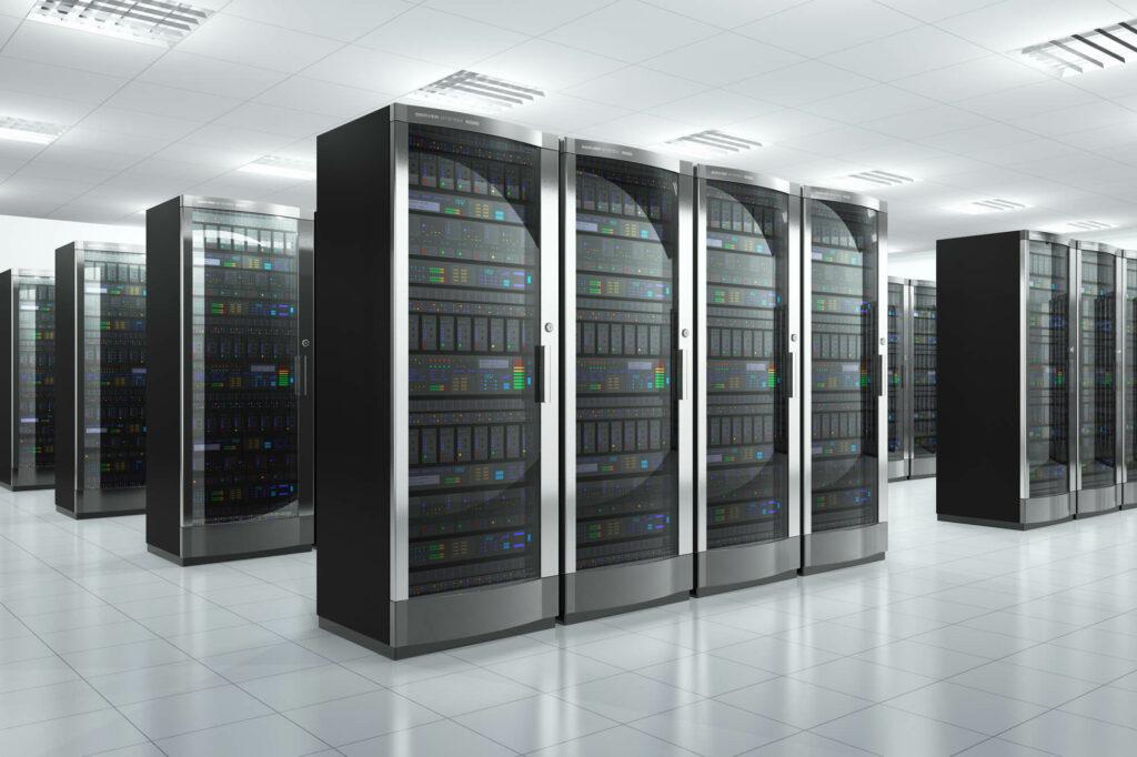 Large server storage area
